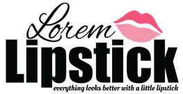 Lorem Lipstick Logo